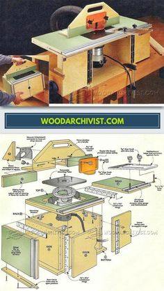 88 best fresadora images on pinterest milling machine woodworking benchtop router table plans router tips jigs and fixtures woodarchivist greentooth Choice Image