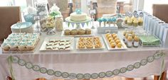 Table+Decorations+Ideas+for+Christening | ... . Jade created this gorgeous event for her son Oliver's christening