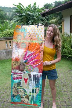 wallpaper panels (anahata art)