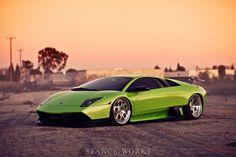 www.stanceworks.com  http://www.stanceworks.com/2012/02/planted-roots-bagged-lamborghini-murcielago/#    HRE-Lamborghini-454-slammed-front