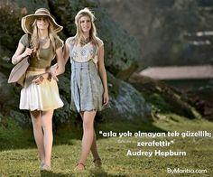 Asla yok olmayan tek güzellik; zerafettir! #AudreyHepburn ByMaritsa.com  #vintage #retro #moda #giyim #kadıngiyim #kadınmoda #kadın #vintagegiyim #retrogiyim #bymaritsa