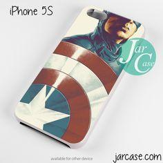 captain america avengers 2 white Phone case for iPhone 4/4s/5/5c/5s/6/6 plus