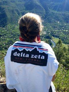 ◖ delta zeta sorority shirt is too cute◗