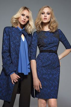 Discover the F/W Collection Blue Lace, Crossdressers, Catwalk, Winter Blue, High Neck Dress, Feminine, Formal Dresses, Anastasia, Pretty