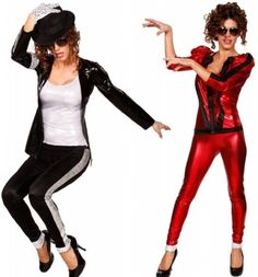 Michael Jackson-style costumes. yes.