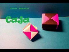Origami - Papiroflexia. Cajita fácil