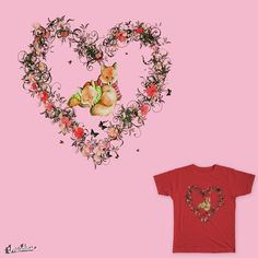 Foxes in Love Heart Design for Nature Lovers Foxes, Love Heart, Artist, Artwork, Nature, Design, Work Of Art, Naturaleza, Heart Of Love