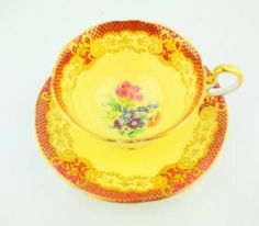 Radfords fenton the gatineau fine english bone china cup and saucer  tea party