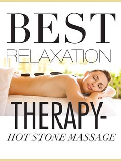 One of those things a person should try at least once #hotstone #massage ONCE?? How about with every massage? :)