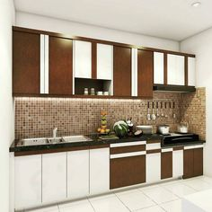 Kitchen Set Minimalis Modern Sederhana Cabinets Color Combination Cabinet Colors
