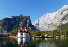 Die bayerischen »Rocky Mountains« – am Königssee