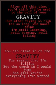 Hunter Hayes and gravity on Storyline