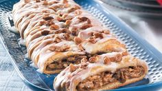 Ok... I'm hungry now.... Pumpkin-Pecan Braid! Perfect for the upcoming holidays. Pumpkin, spices & pecans with crescent roll dough. The aroma will surely be a wake-up call for your family!