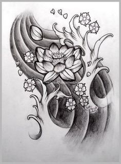 DeviantArt: More Collections Like Lotus Tattoo by alvonia