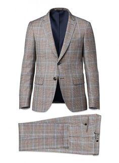Costume Gris Prince de Galles Multicolores 15Hc3Eddo-E500 15 - Costume Homme 38b9233d82c0