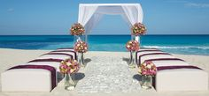 Your beach wedding will be all you could ever dream! For up to 250 guests. #SecretsTheVine