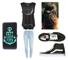 """""""Rock Concert"""" by summerskye179 on Polyvore featuring Paige Denim and Vans"""