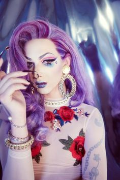 Violet Chachki Rocks Pinup Beauty Trends · NYLON