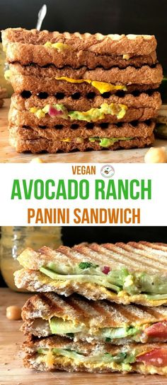 Welcome to Simple Sumptuous Cooking, a vegan cooking blog! Here's a quick recipe for Avocado Ranch Panini Sandwich.