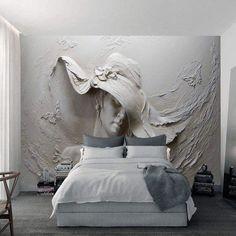 Embossed Wallpaper, Grey Wallpaper, Custom Wallpaper, Photo Wallpaper, Wallpaper Wallpapers, Adhesive Wallpaper, Tons Clairs, Dining Room Wallpaper, Bedroom Wallpaper