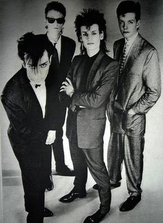 Bauhaus band - The man with the x-ray eyes, 1981 London The Passion of Lovers
