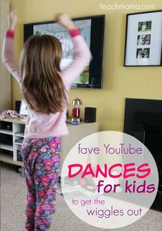 dances for kids: fun indoor moving and grooving to get the wiggles out Gym Games For Kids, Rainy Day Activities For Kids, Exercise For Kids, Preschool Activities, Dancing Games For Kids, Fitness Games For Kids, Toddler Games, Kids Fitness, Fitness Hacks