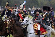 Napoleon Waterloo reenactment