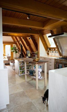 Desanka's Visionary Lux Lodge @lux_eros  www.lux-eros.com #luxlodge #luxeros kitchen design, brass fixtures, rose quartz, custom chopping block, aflame kitchen,