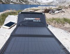 Never be without a charge with the StrongVolt Portable Solar Charger with SunTrack Technology.