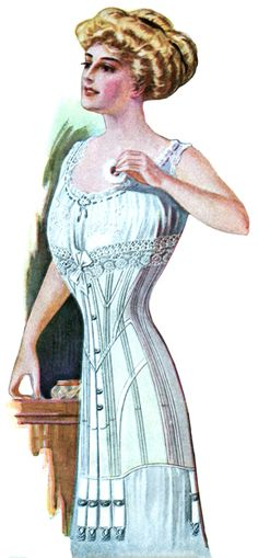 Edwardian Dresses taken from women's fashion magazines published between 1900 and 1910.