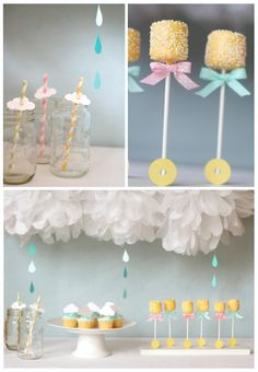 Gender neutral baby shower theme