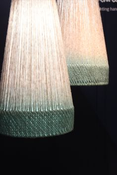 Handmade Lampshades, Paper Lampshade, Macrame Wall Hanging Patterns, Bedroom Light Fixtures, Light Project, Handmade Home, Light Decorations, Home Deco, Lamp Light
