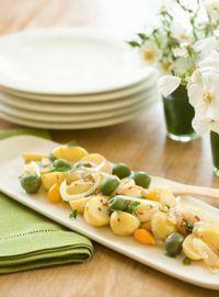 Cartofi cu masline (vegetarian, de post)