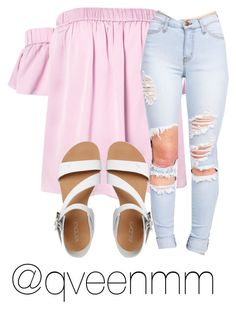 """""""Untitled #296"""" by qveenmm on Polyvore featuring Milly and ALDO"""