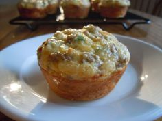 Sausage Cheese Egg Muffins