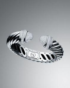 Pave Diamond Waverly Bracelet by David Yurman at Neiman Marcus.