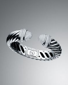 Pave Diamond Waverly Bracelet by David Yurman at Neiman Marcus.
