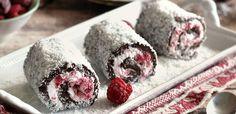 10 sütés nélküli, krémes finomság fél órán belül - Receptneked.hu - Kipróbált receptek képekkel Something Sweet, Sushi, Raspberry, Deserts, Ice Cream, Sweets, Fruit, Ethnic Recipes, Food