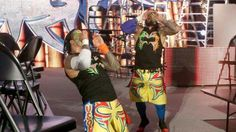 The New Day def. The Usos & The Lucha Dragons in a Triple threat Tag Team Ladder Match for Wwe Tag Team Championship 12/13/15