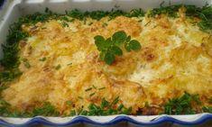 Oloupané brambory nakrájíme na cca 2 mm plátky. Mléko rozmícháme se solí, pepřem, vejcem a polovinou sýru.Pekáček vymažeme lehce máslem. Smíchané...