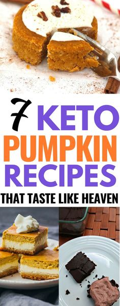 These keto pumpkin recipes are THE BEST! I'm so glad I found these low carb pumpkin recipes for fall! Now I can enjoy pumpkin recipes and still lose weight on the keto diet! Definitely pinning this for later! #keto #ketorecipes #ketogenicrecipes #lowcarbrecipes