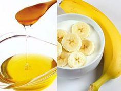 Go, go, go la banane! Easy Homemade Face Masks, Homemade Face Pack, Homemade Facial Mask, Homemade Facials, Homemade Recipe, Banana Mask, Banana Uses, Honey Face Mask, Hair Essentials