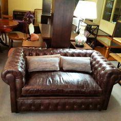 Sofa chesterfield  de 2 cuerpos