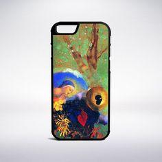 Odilon Redon - Homage To Leonardo Da Vinci Phone Case – Muse Phone Cases