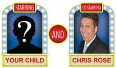 Kid's Birthday Magic Show Starring Your Child and Magician Chris Rose