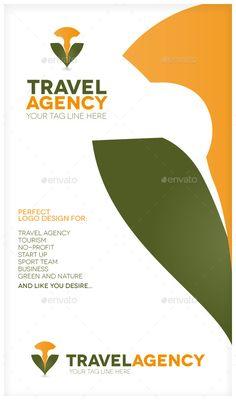 Travel Agency Logo concept mockup
