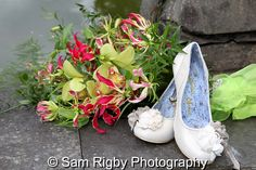 Wendys Flowers (www.wendysflowers.co.uk) at the Wedding of Gemma & Ash, 15th August 2014 - Sam Rigby Photography