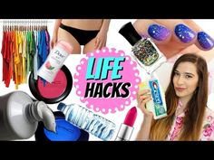 10 LIFE HACKS All Girls Need to Know!!! - YouTube