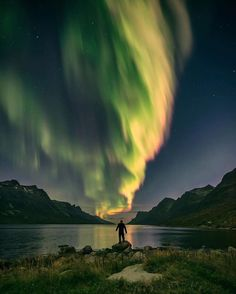 Green with envy - of anyone seeing this tonight  #northernlights #norway #northernnorway #northernlightsnorway  @eventyr