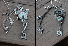 Alice in Wonderland Keys by *KeypersCove on deviantART